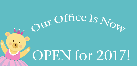 Our Office is OPEN for 2017