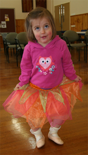 Our Little Kinderballerina