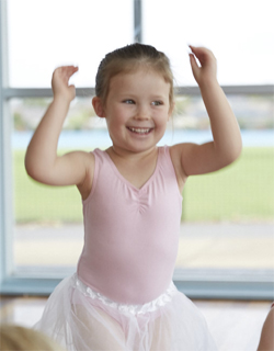 Happy Kinderballerina