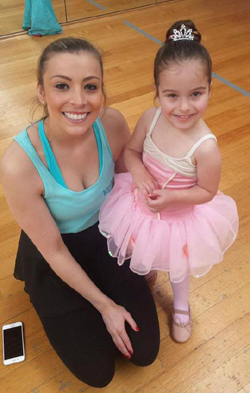 Teacher and Ballerina