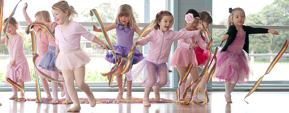Kinderballet Tots in Action
