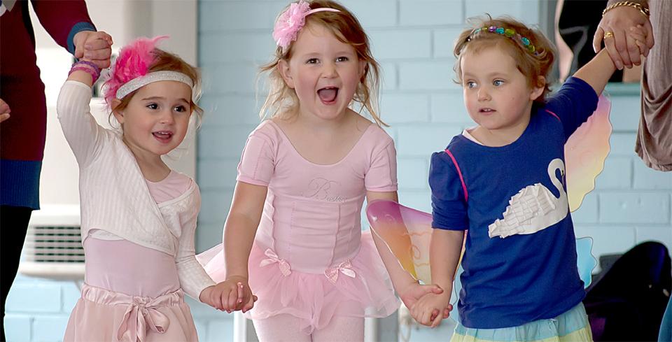 Preschool Ballet Girls