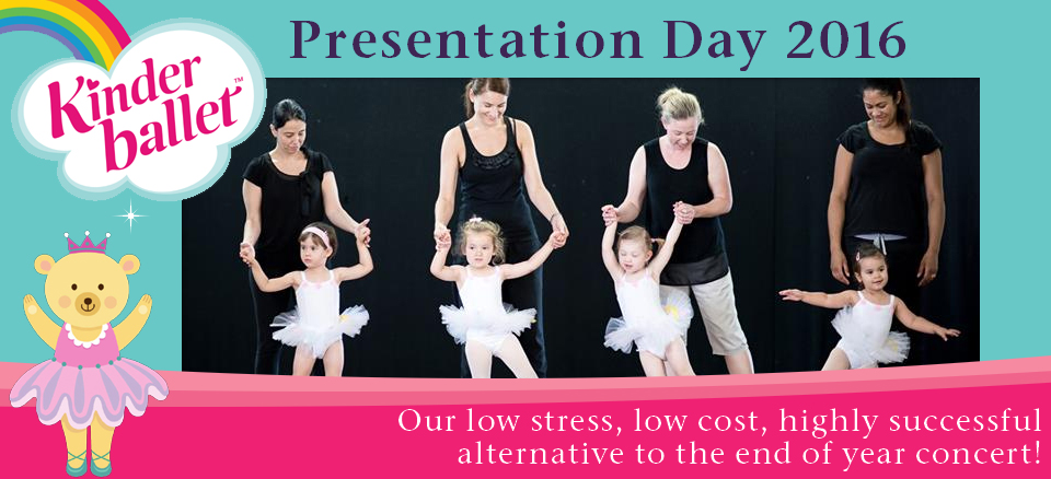 Kinderballet Presentation Day